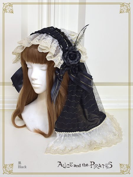 P15HA905 Alice Veil Headbow
