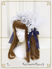 P15HA917 Twinkle Pearl Headdress Bow