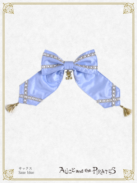 P15HA923 A/P Ribbon Tassel Barrette