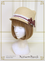 [RESERVATION] P15HA928 Kitten's Ear Straw Hat