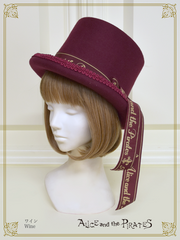 P15HA943 A/P Logo Ribbon Silk Hat