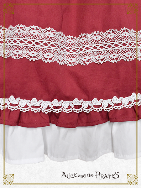 P15JS217 Triple Ribbon Jumperskirt