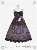 P15OJ208 Le Petit Fleuriste~Eternal Bouquet and a Time Waiting for You~Jumper Skirt Ⅱ