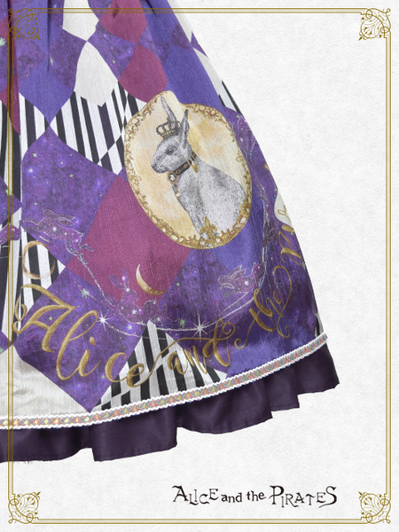 P15OJ209 Escape~Captive Rabbit in a Moonlit Night~Jumperskirt Ⅰ