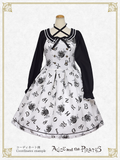 P15OJ213 Alice and the Alphabet Labyrinth Jumperskirt Ⅰ