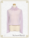 P15PO707 Dot Tulle Pullover