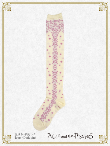 P15SC816	Sugar Plum Fairy Over Knee Socks