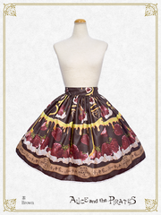 [RESERVATION] P15SK501 Honey Bee Berry Skirt