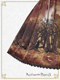 P15SK507 The Night of Ghost Forest Skirt