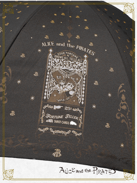 P15UM852 Lady Vanessa's Fortune Teller Box Umbrella