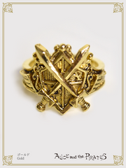 P16AC014 Sword Emblem Ring