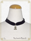 P16AC031 Antique Velour Choker