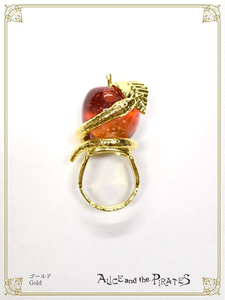P16AC034 Wisdom Apple Ring
