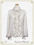 P16BL402 Volume Sleeve Classical Blouse