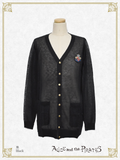 P16CD104 A/P Emblem Long Cardigan