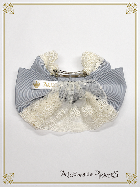 P16HA921 Rosier Empress Ribbon Barrette