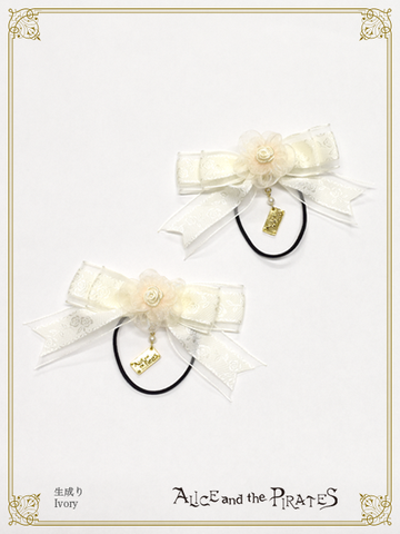 P16HA932 Mini Rose Ribbon Hairband