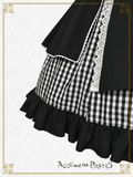 P16JS210 Asymmetry Ribbon Jumperskirt