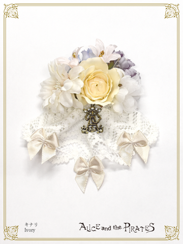 P16OT027 Mini Bouquet Corsage Clip