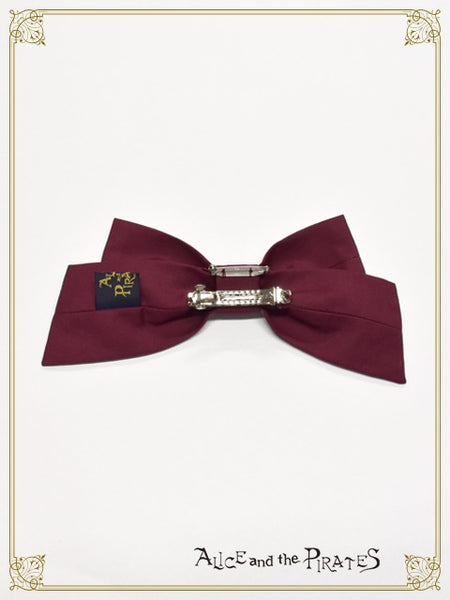 P16OT036 Captain Chris Charming Caper Ribbon Barrette