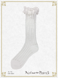 P16SC810 A/P See Through Stripe Short Socks