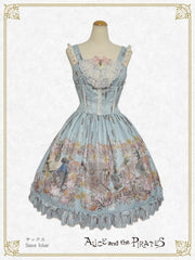 P17OJ203 Victorian Tear Bottle Jumperskirt Ⅰ