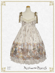 P17OJ204 Victorian Tear Bottle Jumperskirt Ⅱ