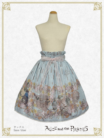 P17SK502 Victorian Tear Bottle Skirt