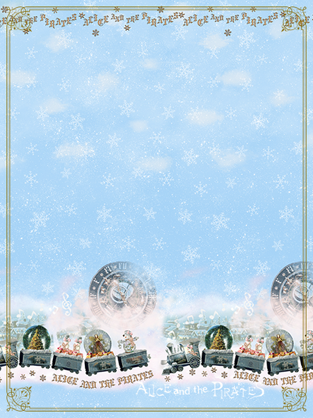 P14OH909 Snow Globe Train Headdress