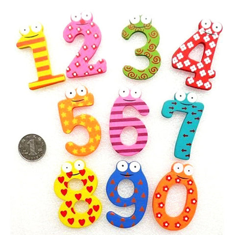 Magnetic Wooden Math Set