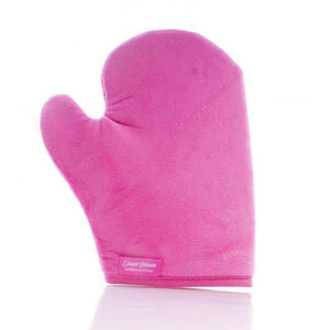 COCOA BROWN-Cocoa Brown Velvet Thumb Tanning Mitt-Beauty Gold