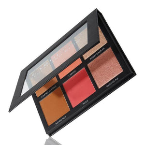 LAROC-LaRoc PRO Sculpt and Glow Face Palette-Beauty Gold