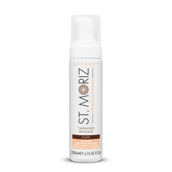 ST MORIZ-St Moriz Professional Develop Self Tanning Mousse - Dark-Beauty Gold