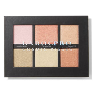 LAROC-LaRoc PRO Cosmic Kisses Highlighter Face Palette-Beauty Gold
