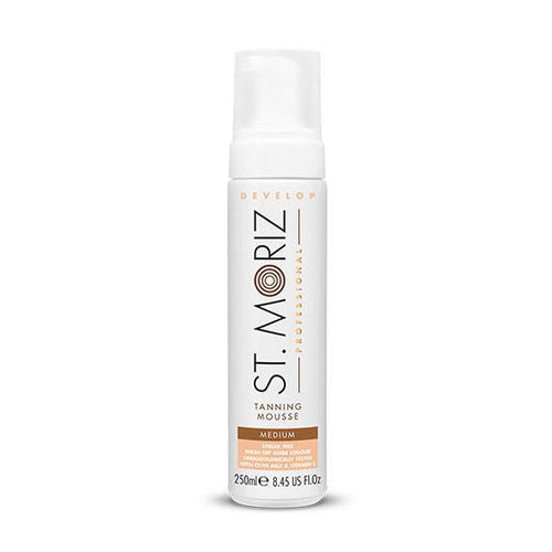 ST MORIZ-St Moriz Professional Develop Self Tanning Mousse -Medium-Beauty Gold