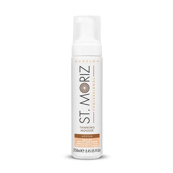St Moriz Professional Develop Self Tanning Mousse -Medium - BeautyGold