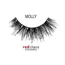 Load image into Gallery viewer, RED CHERRY-Red Cherry Lashes - Molly-Beauty Gold