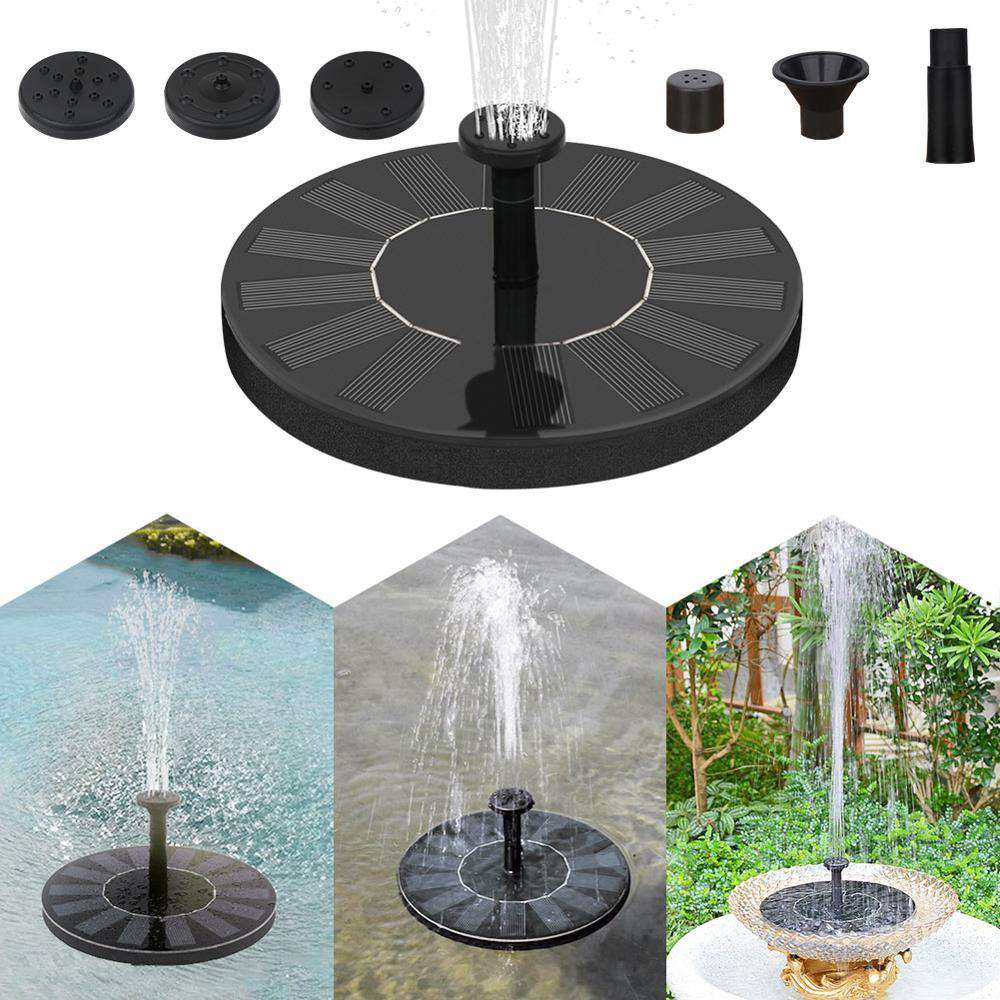 Mini Fonte Solar Water Pump ® - Com 3 Chafariz Incluídos