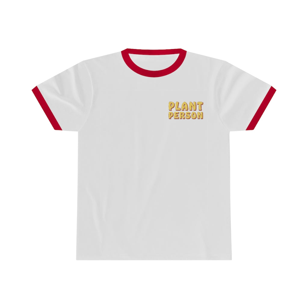 Plant Person Ringer Tee