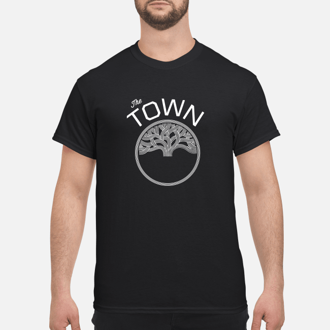 half off 16620 23769 Golden State Warriors T-Shirt Why The Town On Warriors Shirt