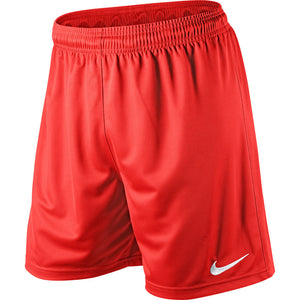 Nike Park Knit Boys Short-Red - Playmaker Sports
