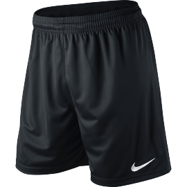 Nike Park Knit Short - Youth - Black/White - Playmaker Sports