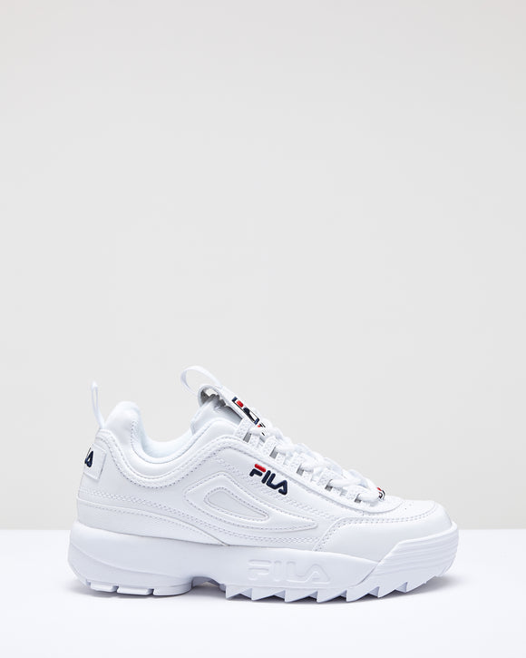 FILA Disruptor - Womens - White/White