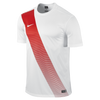 Nike Sash Jersey - Adult - White / University Red