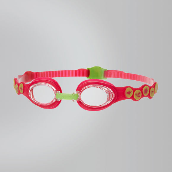 Speedo Junior Rift Goggles - Pink/Green