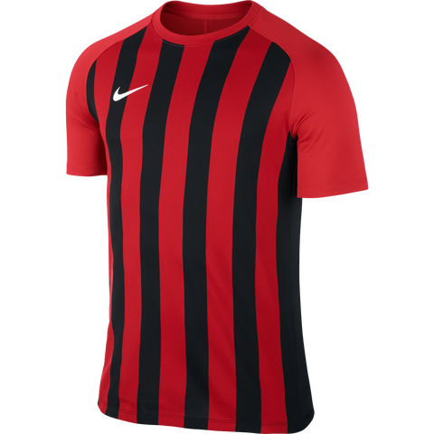Nike Inter Stripe Jersey - Adult - University Red / Black