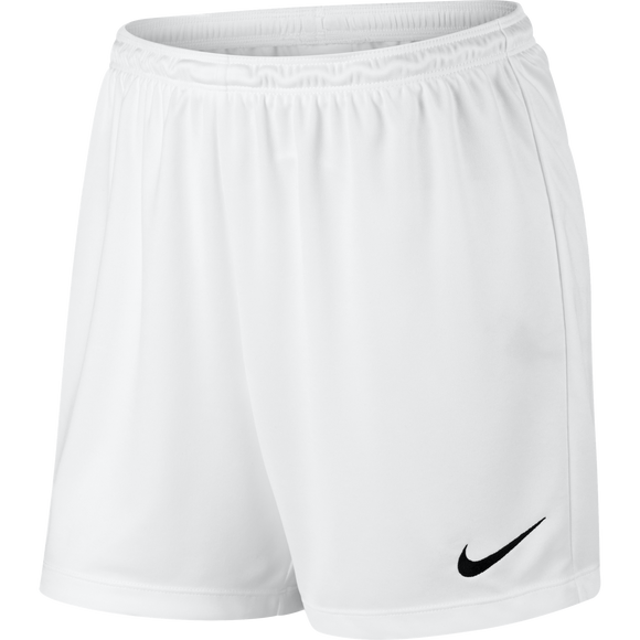 Women's Nike Park II Shorts - White