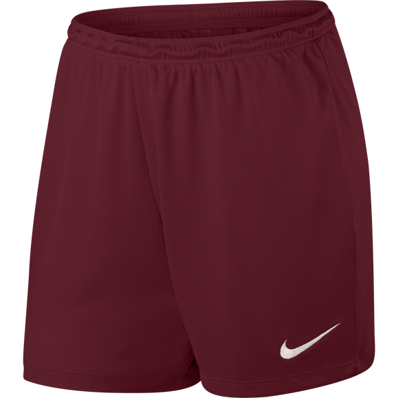 Women's Nike Park II Shorts - Team Red