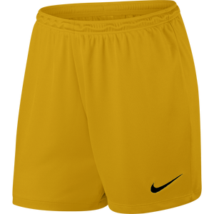Women's Nike Park II Shorts - University Gold