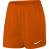 Women's Nike Park II Shorts - Team Orange